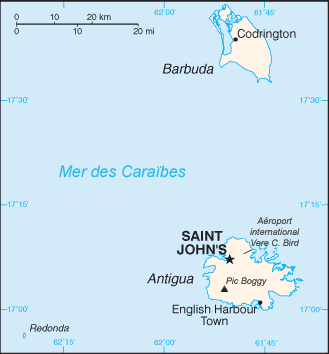 Antigua-et-Barbuda Atlas