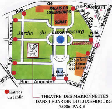 Marionnettes du luxembourg e voyageur for Jardin luxembourg horaires
