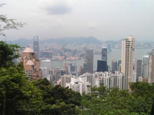 Point de vue sur Hong Kong