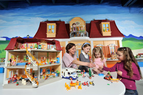 Playmobil funpark e voyageur for Salle a manger a colorier