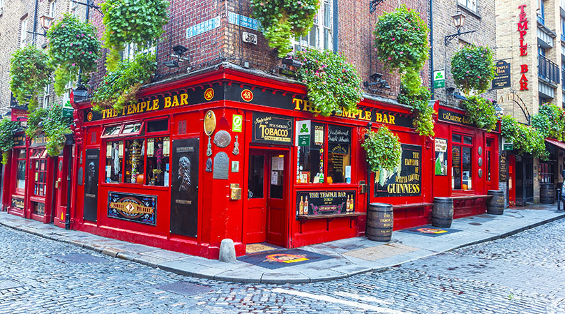 Le Temple bar, Dublin