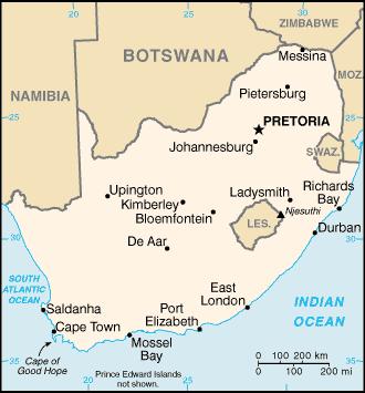 Afrique du Sud Atlas