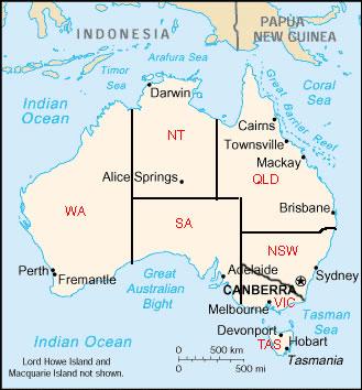 Australie Atlas