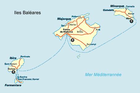 Îles Baléares Atlas