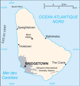 Barbade Atlas