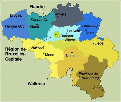 Belgique Atlas