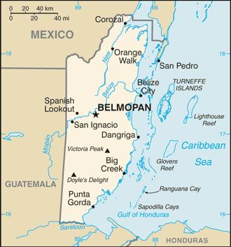 Belize Atlas