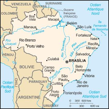 Brésil Atlas