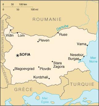 Bulgarie Atlas