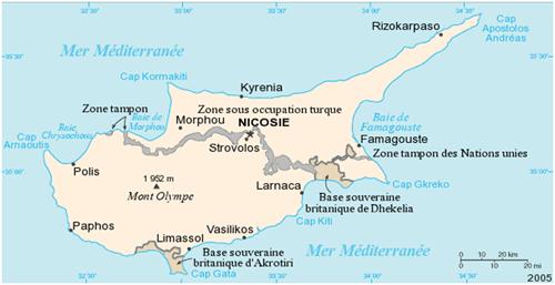 Chypre Atlas