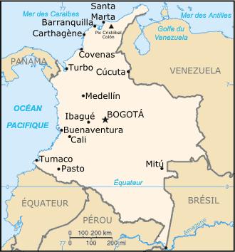 Colombie Atlas