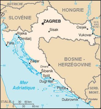 Croatie Atlas