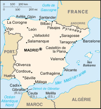 Espagne Atlas