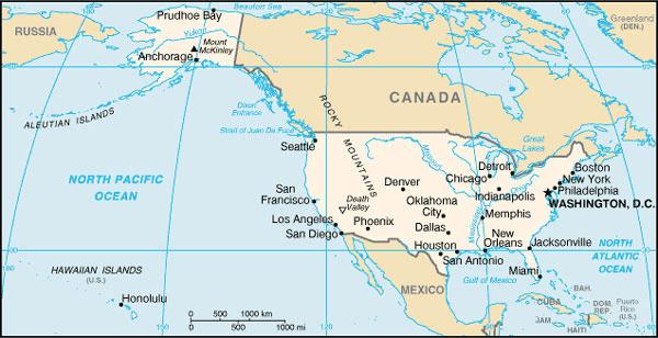 États-Unis Atlas