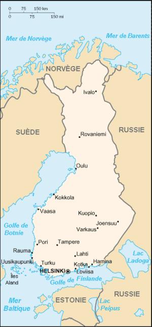 Finlande Atlas