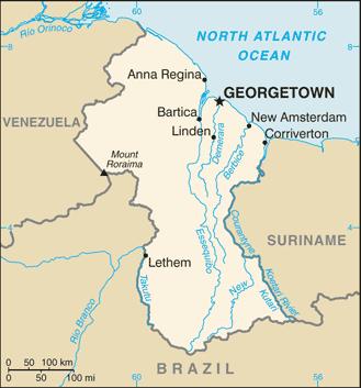 Guyana Atlas