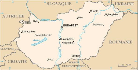 Hongrie Atlas