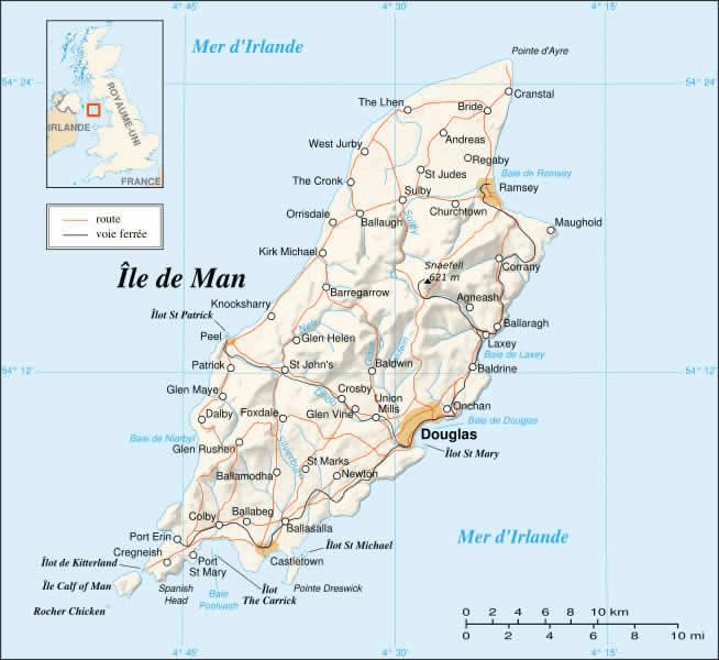 Île de Man Atlas