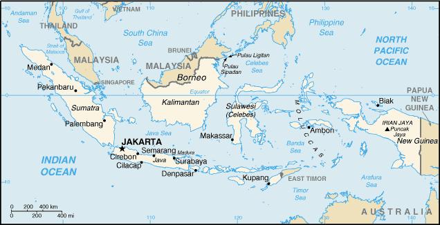Indonésie Atlas