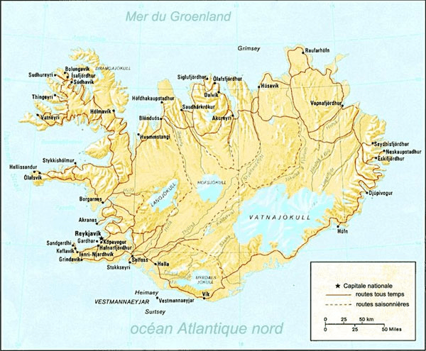 Islande Atlas