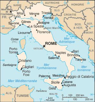 Italie Atlas