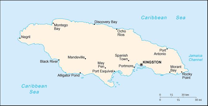 Jamaïque Atlas