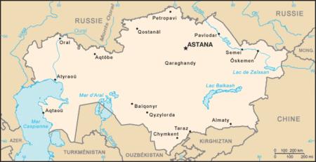 Kazakhstan Atlas