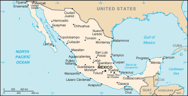 Mexique Atlas