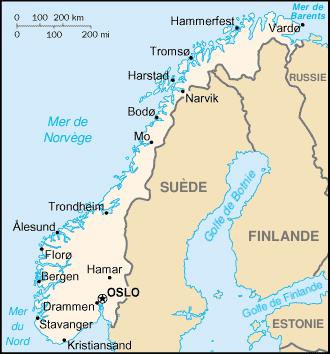 Norvège Atlas