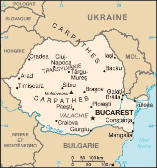 Roumanie Atlas