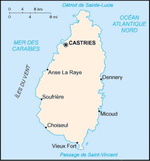 Sainte-Lucie Atlas
