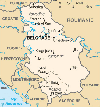 Serbie Atlas