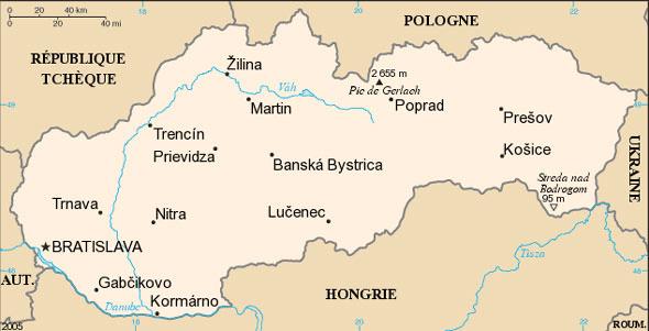 Slovaquie Atlas