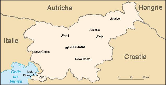 Slovénie Atlas