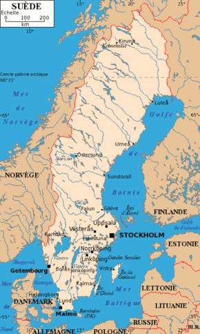 Suède Atlas