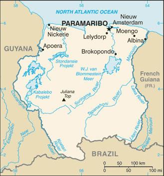 Suriname Atlas