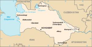 Turkménistan Atlas