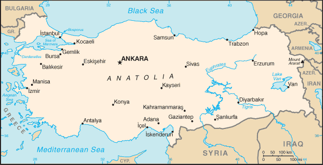 Turquie Atlas