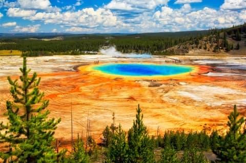 Yellowstone parc USA