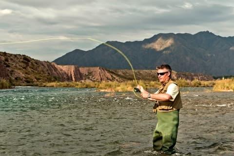 Partie de pêche en Argentine et au Chili